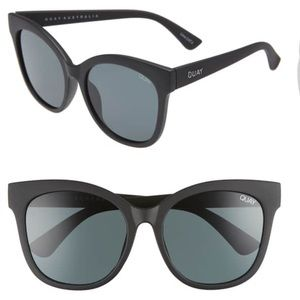 "QUAY ""it's my way"" 55mm matte black sunglasses"